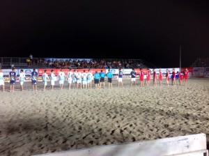 Beache Soccer Super Eight Cup va ai Cavalieri