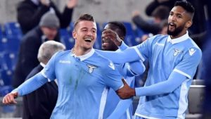 Milinkovic, illumina, il derby